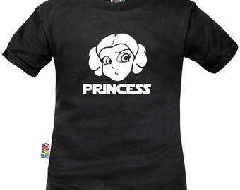 Kids t-shirt Star Wars: princess LEIA as