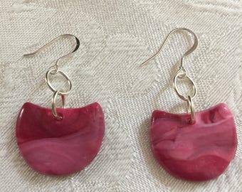 Pink Storm Earrings