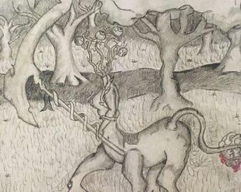 Centaur in the styx