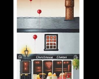 ChurchMouse Cheese Shop