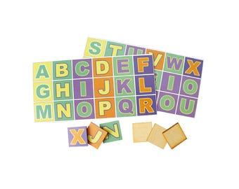 DIY miniature Alphabet Set