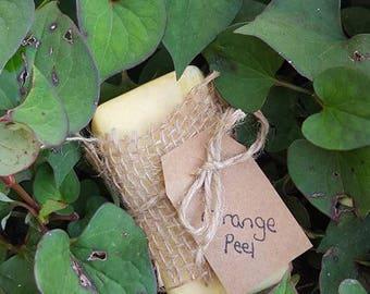 Orange Peel Lye Soap