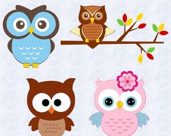 Cute owl svg, owl cut file, cute owl clipart, bird svg, cut file for kids, children,vinyl cut, cricut, silhouette cameo