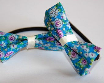 SET 2 GIRL WITH A LIBERTY BOW TIES