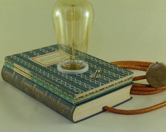 "Book lamp ""Picture book without pictures"""