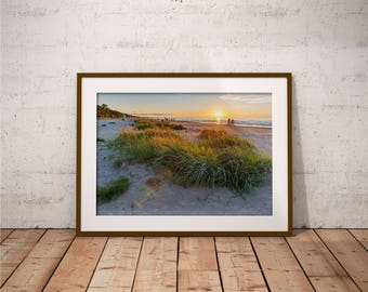 Metal Print - Baltic Sea, Landscape Photography - Metalic Aluminum Print, Fine Art, Wall Art, Nature Print, Home Decor, Photography