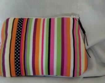 Make-up pouch zipper all cotton.