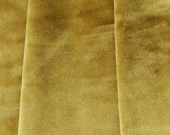 Gold Velvet Curtains Drapes Custom Blackout Grommet Mustard Golden Home Decor Bedroom