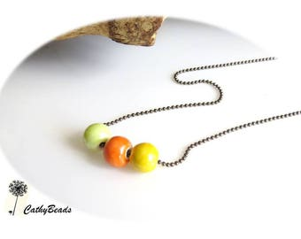 The Choker necklace ceramic 3 colors