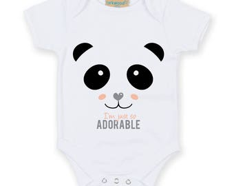 Baby gift: Panda