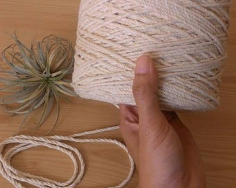 Natural Cotton Rope Roll 2,5 mm