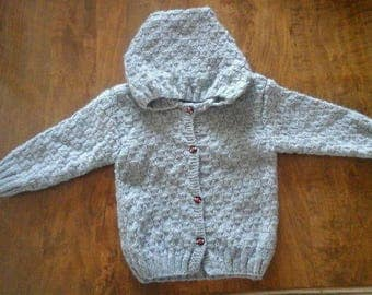 Hooded jacket size 2 years