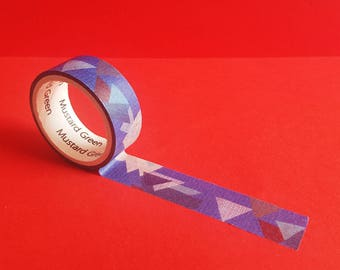 Mountain Washi Tape in Blue