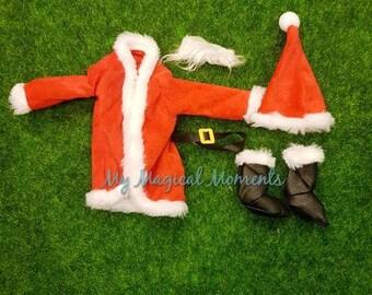 Elf Compatible Costume- Santa suit