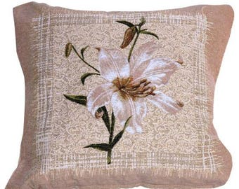 pillow case with flowers