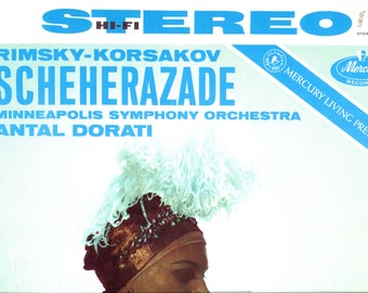 DORATI/MINNEAPOLIS SYMPHONY  Rimsky-Korsakov: Sheherazade