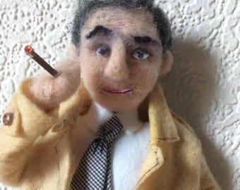 Handmade Columbo figure