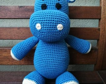 Blue water hippo