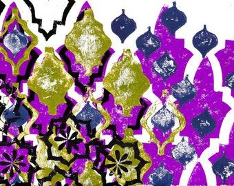 Islamic inspired digital print