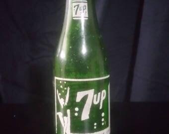 Antique 7up bottle