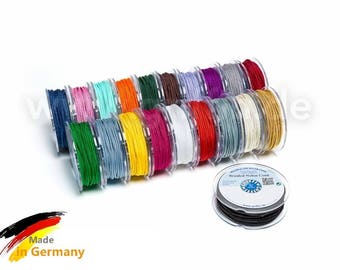 25m Nylon Thread 0.5 or 1mm - Choice the Color - Made in Germany