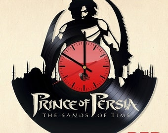 Prince of Persia Vinyl Record Wall Clock