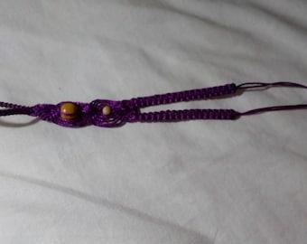 Braided ring bracelet