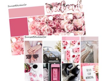 Sweet Sophistication | Erin Condren Weekly Kit (K15)