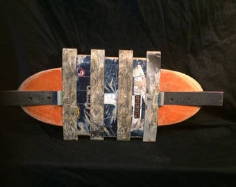 Unique Skateboard Wall Art Made Entirely Out of Skateboard decks
