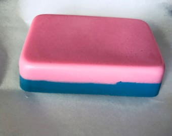 Cotton Candy Soap Bar with Shea Butter Handmade By SterlingSoapCo