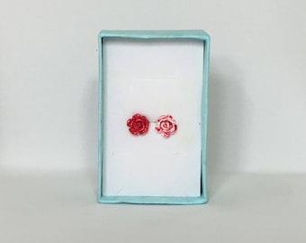 Alice in Wonderlands :Painting the Roses Red Earrings