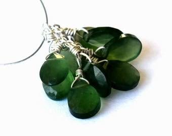 Waouhh... Beautiful set of 10 beads of Serpentine