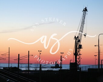 Lake Erie Sunset -- Digital Download