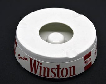 Winston-Ashtray Winston Advertising Ashtray