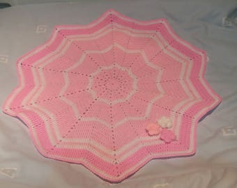 Little Girl Pink Comfort Blanket