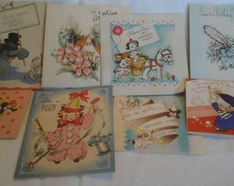 Vintage  party invitations