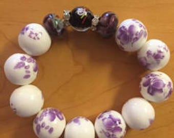 Beaded Bracelet Floral