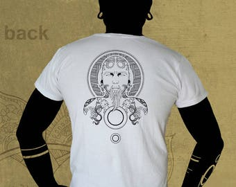 tattoo v1 ,t-shirt trance and surf cotton wear