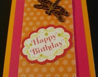 Birthday Wooden Dragonfly