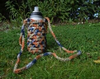 Bottle Bag! (Orange/blue)