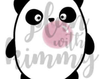 Pookie Panda bubblegum   digital download