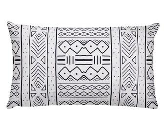 Mudcloth Print Pillow