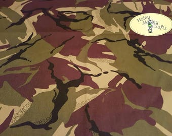 Camouflage Cotton Drill Fabric