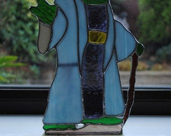 Stained Glass Star Wars Yoda