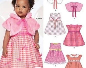 New Look 6925 No. girl bolero and dress pattern