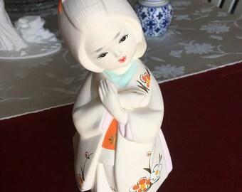 Vintage Japanese Showa Period Hakata Doll