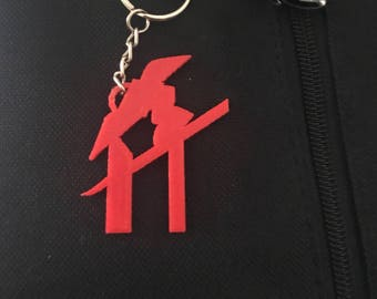 Rockford, IL Symbol Keychain