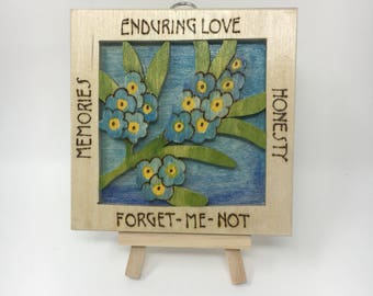 Forget-Me-Not Wall Hanging