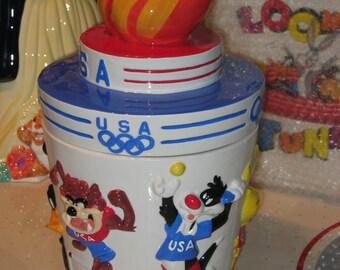 Looney Tunes Olympics Cookie Jar