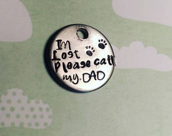 Free Shipping!| Small Funny dog Tags |cat Tags| Pet ID tags|